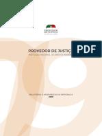 Relatório à AR do Sr. Provedor de Justiça