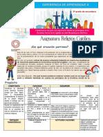 5º grado_Experiencia de Aprendizaje 4 PLANIFICADOR