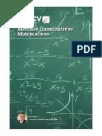 Métodos Quantitativos Matemáticos