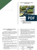 Manual Arborizao Formato Pronto