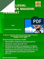ASPEK LEGAL PRAKTEK PERAWAT