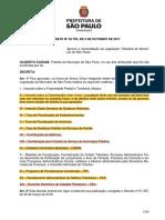 Decreto 52703 2011 CLT Atualizado 2013