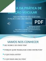 Didática Da Prática de Direção Veicular Ebt Centec