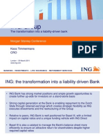 ING Group - The transformation into a liability-driven bank