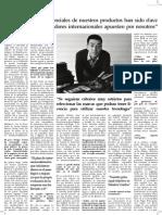 Entrevista Expansión a Ramón Castey