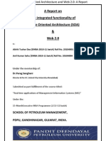 Service Oriented Architecture & Web 2.0