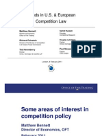 Trends In U.S. & European Competition Law