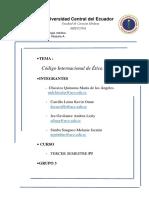 GRUPO 3_Código Internacional de Ética Médica