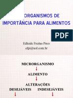 MICRORGANISMOS EM ALIMENTOS (1)