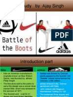 ppt of nike and adidas