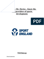 Part 2- know the key providers for sports development