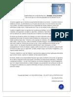 DIFERENTES TIPOS DE MIEDO