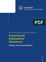 20110119_Departmental Strategic Assessment_DWP