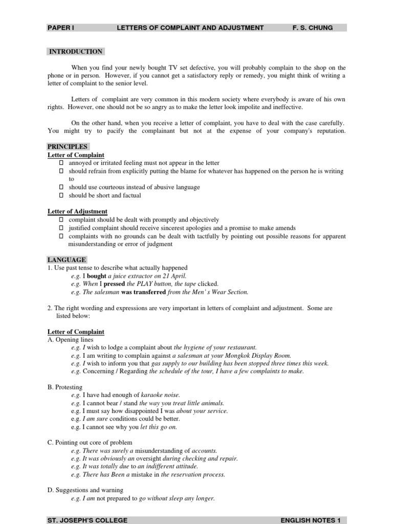Complaint bus service essay