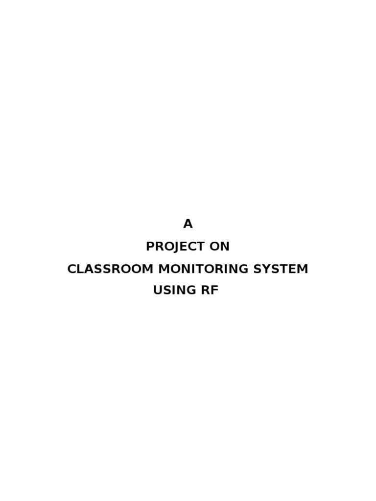 Classroom Monitoring System Using Rf And Ir Venu Radio Spectrum Analog To Digital Converter By Allaboutcircuits Adc Resolution Rectifier
