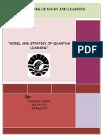 makalah model pembelajaran quantum