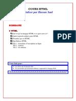 Cours HTML  -  Les Balises