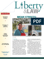 Liberty & Law IJ's Bimonthly Newsletter (April 2011)
