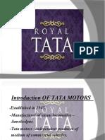 TATA MOTORS final ppt