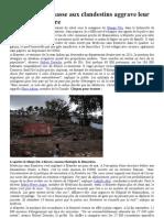 A Mayotte, la chasse aux clandestins aggrave leur situation sanitaire