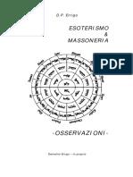 Esoterismo e Massoneria