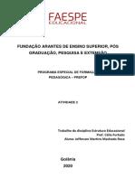 Faespe Atividade 2 - Jefferson Martins