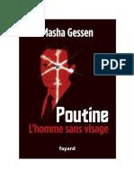 Gessen Masha - Poutine L'Homme Sans Visage
