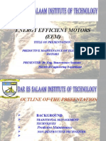 PREDICTIVE_MAINTENANCE OF ELECTRIC_MOTORS