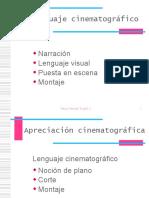Lenguaje cinematografico Cine memoria y paz