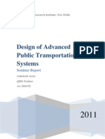 Design of Advanced Public Transport System2