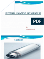 INTERNAL PAINTING OF SILENCER