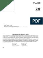 Fluke 789 Process meter user guide