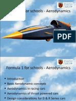 F1forschools Aerodynamics