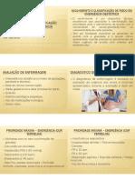 ACOLHIMENTO E CLASSIFICAÇÃO DE RISCO EM EMERGÊNCIA OBSTÉTRICA[3132]