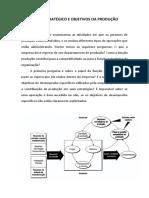 PAPEL ESTRATÉGICO E OBJETIVOS DA PRODUÇÃO apostila