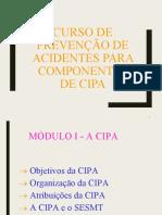 Curso de Componentes Da CIPA