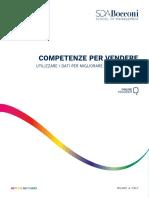 Brochure Competenze Per Vendere Analisi Dati