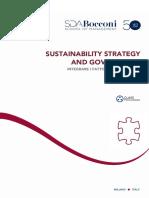 Brochure Sustainability Strategy Governance