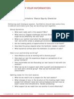 Facilitators' Racial Equity Checklist