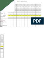 Plan de Trésorerie Modele