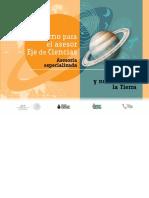Cuaderno Del Asesor_ciencias_Asesoría Especializada_curso 3_El Universo y Nuestra Casa, La Tierra