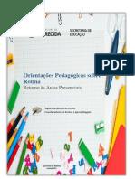 2021_06_15 Orientações Pedagógicas - Retorno Às Aulas Presenciais 2021