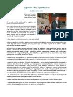 Inauguración CIMA - Eduardo Maruri
