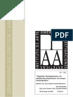 Alejandro Christopherson o la medida del eclecticismo. Un ensayo historiográfico