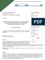 Espacialización, Estilos de Vida y Clases Medias_ Procesos de Suburbanización en La Región Metropolitana de Buenos Aires