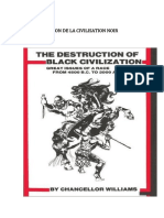 La Destruction de La Civilisation Noir
