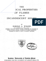 The Electrical Properties of Flames and of Incadescent Solids - Harold A. Wilson - 1912