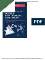Desafíos para una nueva constitución - Jaime Bassa