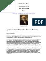 Aportes de Carlos Mark en Las Ciencias Sociales