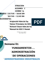 Semana 01 -  AO-I - Antecedentes basicos de la administracion